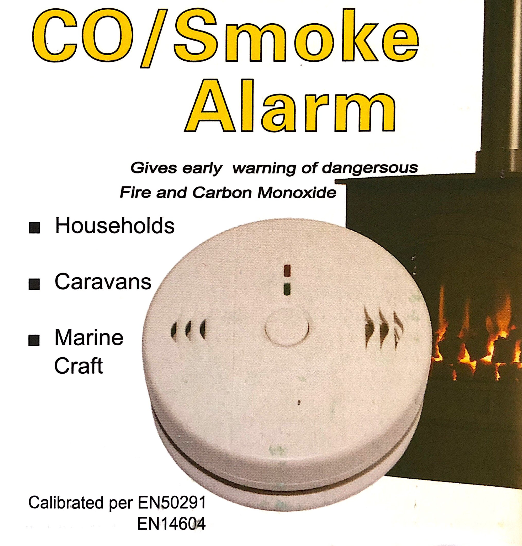 COSMOKE -               Battery Operated CO/Smoke Alarm
