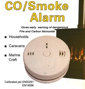 Battery Operated CO/Smoke Alarm