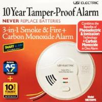 MIC1509S -    Hardwired Combination 3-in- 1 Smart Smoke + Fire + Carbon Monoxide Smart Alarm