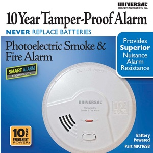 10 Year Battery Powered Photoelectric Smart Smoke/Fire Alarm