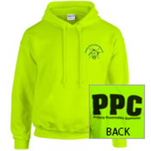 Safety Green PPC Hoodies