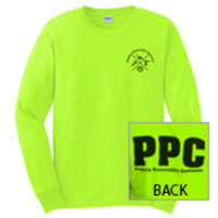 SWEATSHIRT - Safety Green PPC Sweatshirts