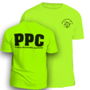 Safety Green PPC T-Shirt