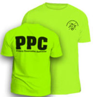 TSHIRT -     Safety Green PPC T-Shirt