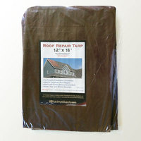 TARP100 - Heavy Duty Brown Roof Tarps