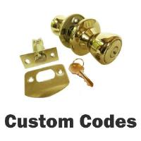 LOCKSETS - Custom & HUD  KeyCode Locksets