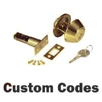 DEADBOLTS -     Custom & HUD KeyCode Deadbolts