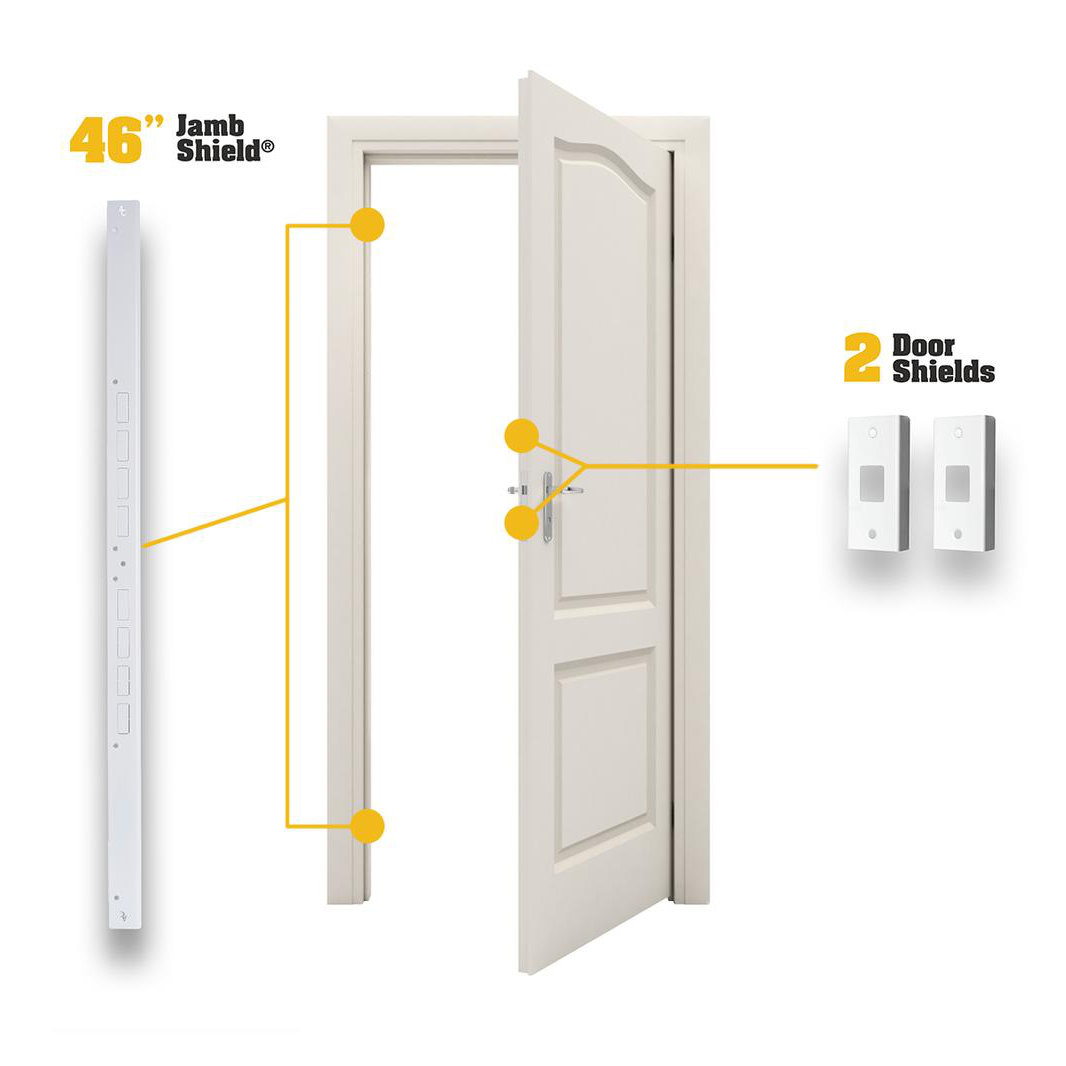 Doors Jambs: Door Armor MINI Combo (Jamb And Door Reinforcement