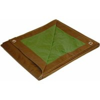 TARP200 - Lightweight Brown-Green Roof Tarps