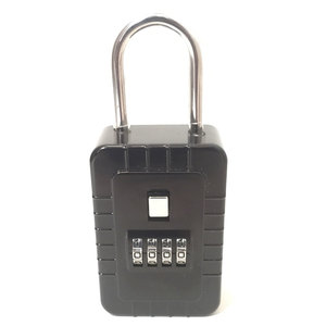 Hinged Lock Box 4 Number Combination (Large)