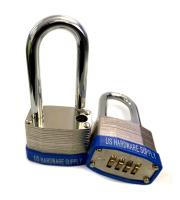 PLC4D45L -             Combination Padlock 4 Wheel 45mm Long Shackle