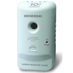 10 Year USI Carbon Monoxide Smart Alarm w/Sealed Battery