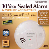 MI106S -     Hardwired 2‐in‐1 Smart Smoke + Fire Alarm