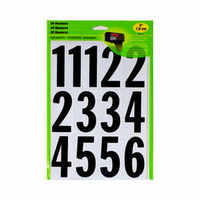 MM-4N - Self Adhesive Numbers 3 in. (26 Number Stickers)