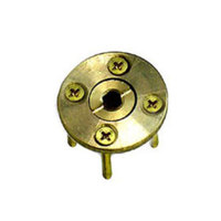 WOODANCHOR - Brass Anchor for Wood Decking