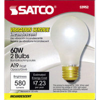 LB100 - SATCO 60W Light Bulbs