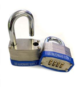 Combination Padlock 4 Wheel 45mm