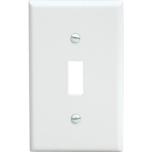 Wall Plate, Single Switch (pack of 10)